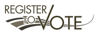 Logo for Register to Vote.