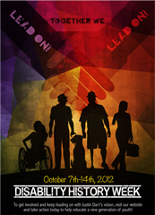 Thumbnail of Disability History Week poster