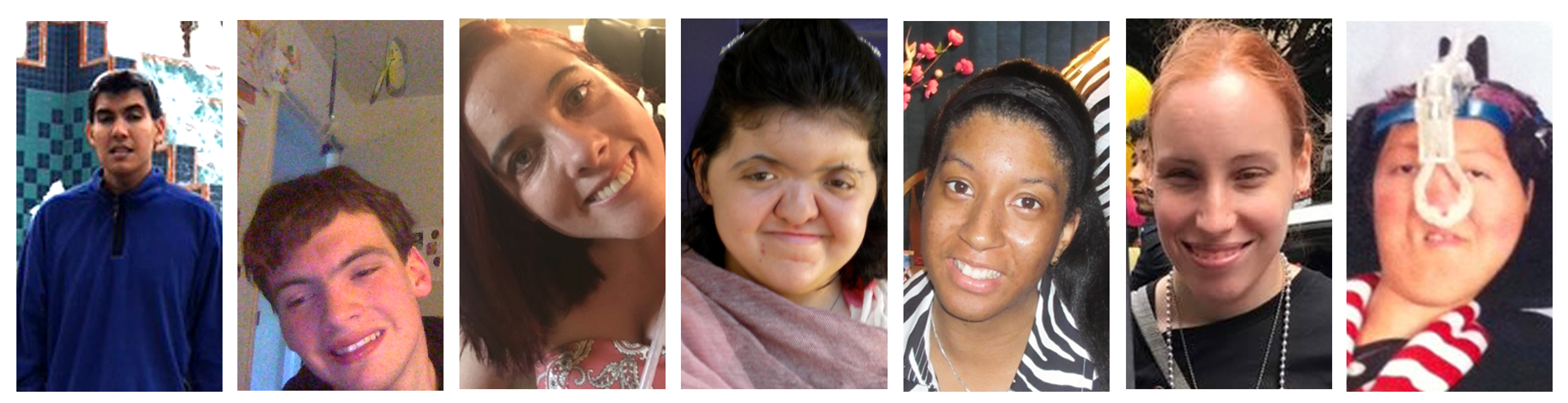 Photos of the 7 YAC Members: (L-R) Armand B., Ian D., Alexa M., Sara M., Alise S., Tiffany T., Priscilla W.