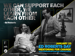 Photo of Ed Roberts Day 2016 Mentor Poster.