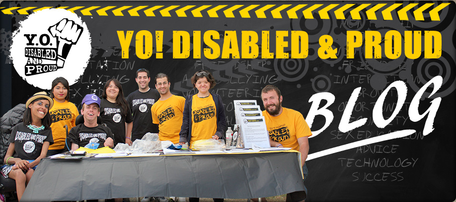 Banner of Banner of YO! Disabled & Proud Blog.