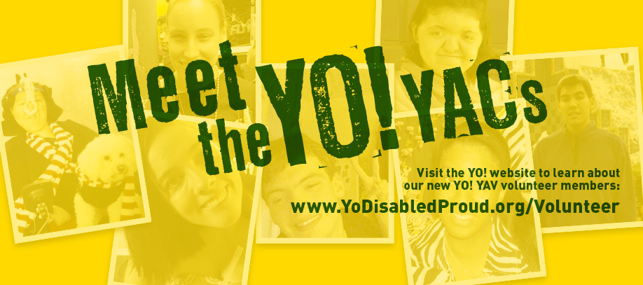 Banner of Banner of Meet the YO! YACs. Visit the Volunteer page to learn more.
